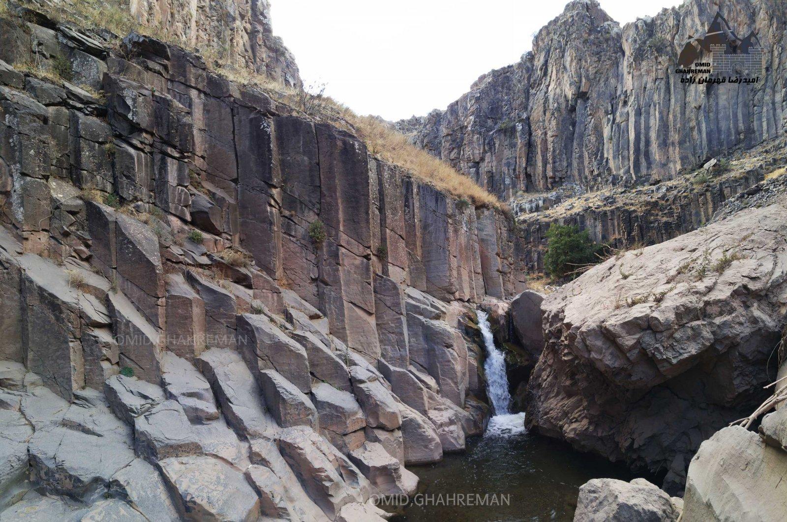 آبشار دره بدولی در ماکو