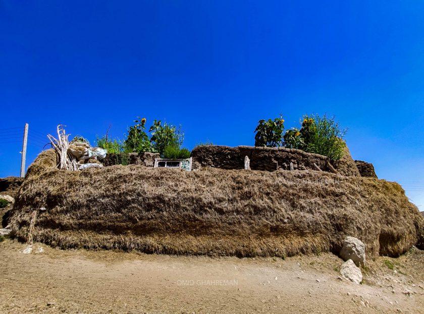 اتاقک و انباری جالب در روستای توریان