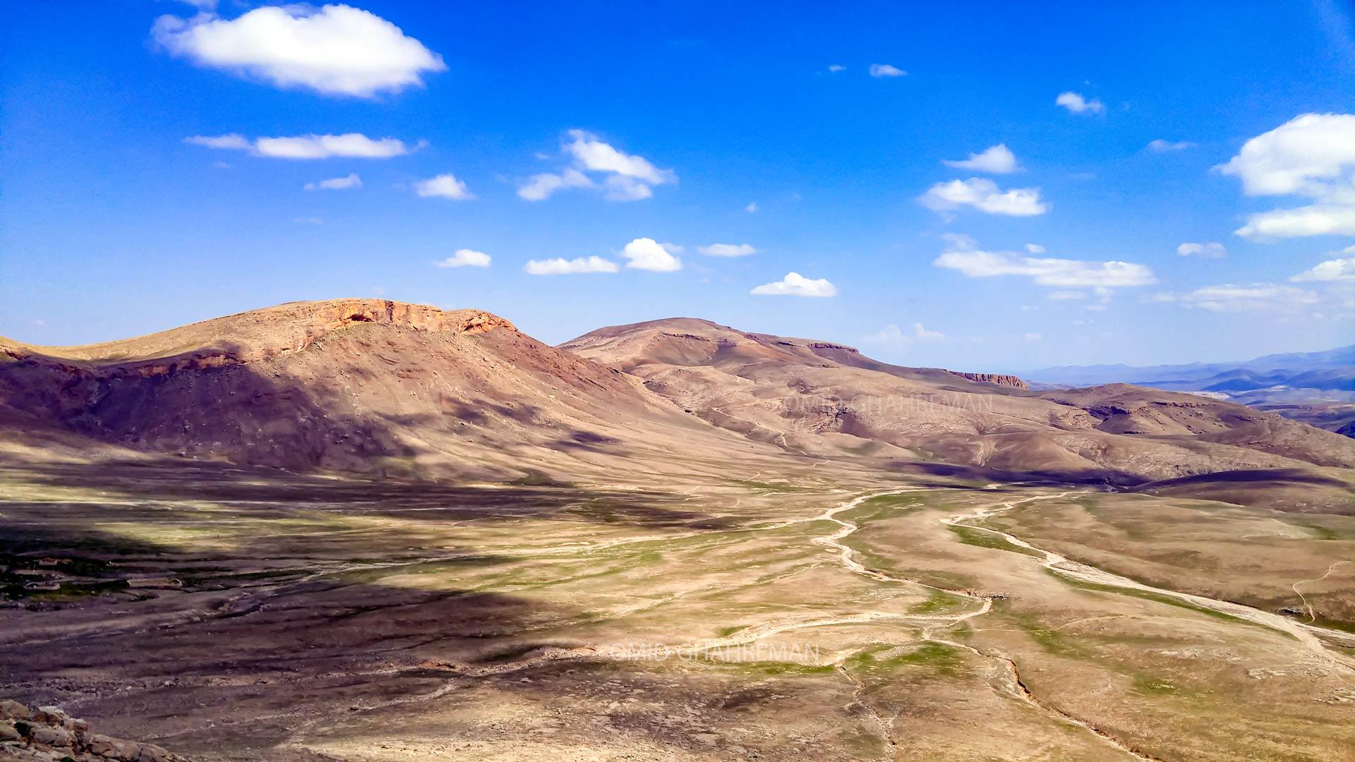 ارتفاعات بالای کوه یه و شمال شهر ماکو