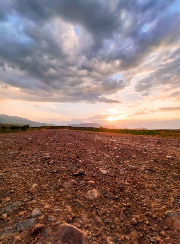 از جاده تا غروب آفتاب Qaleh Darrehsi Sunset