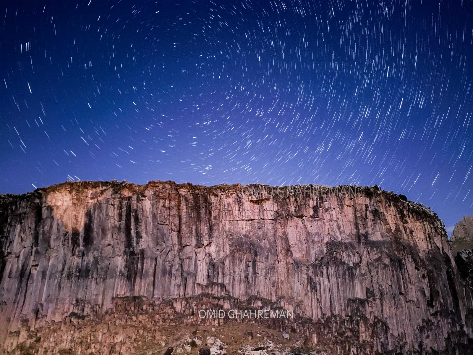 استار تریل یا رد ستارگان در ماکو دره قیرمیزیلیک