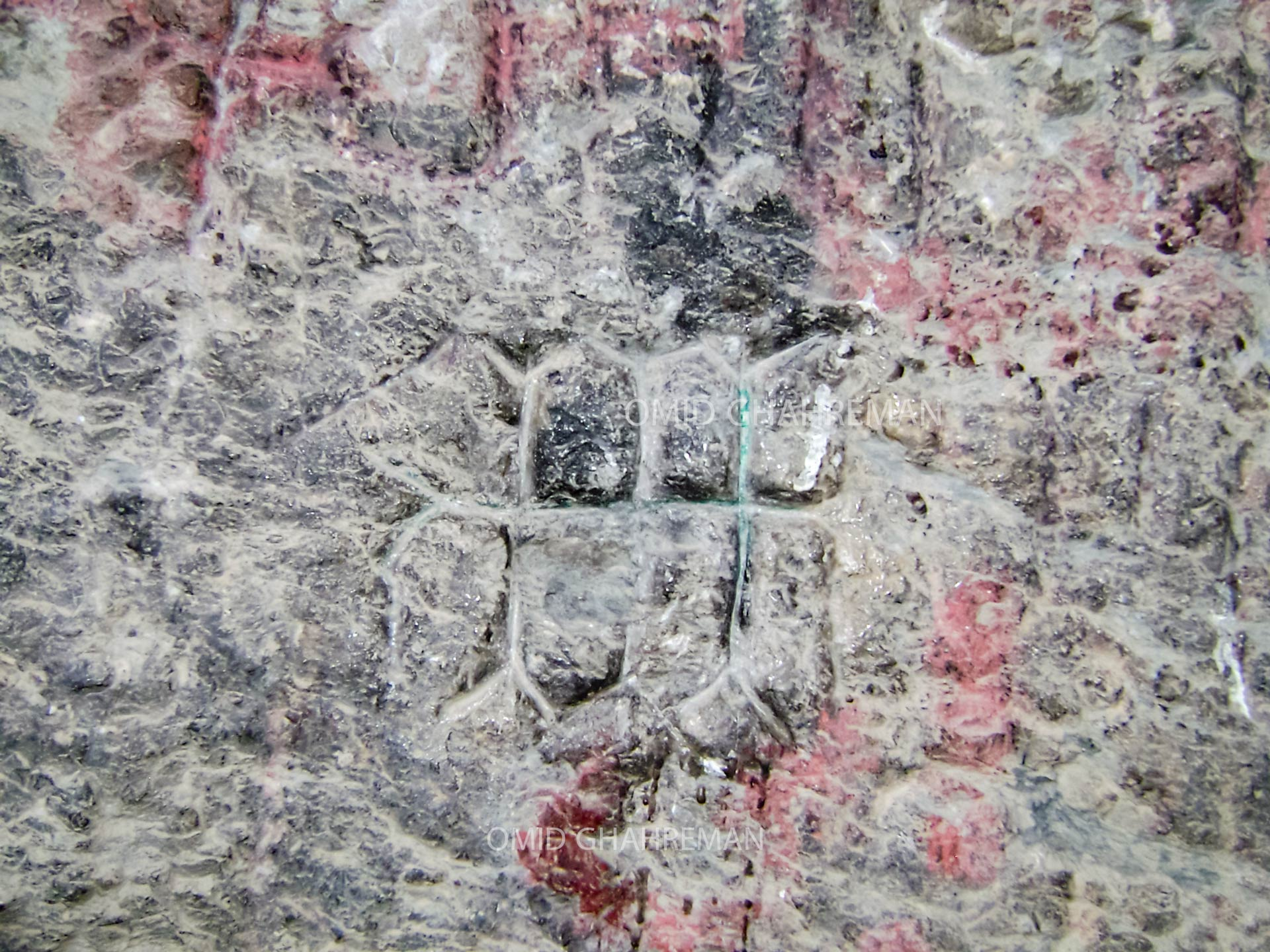 حجاری های دیواره قیه