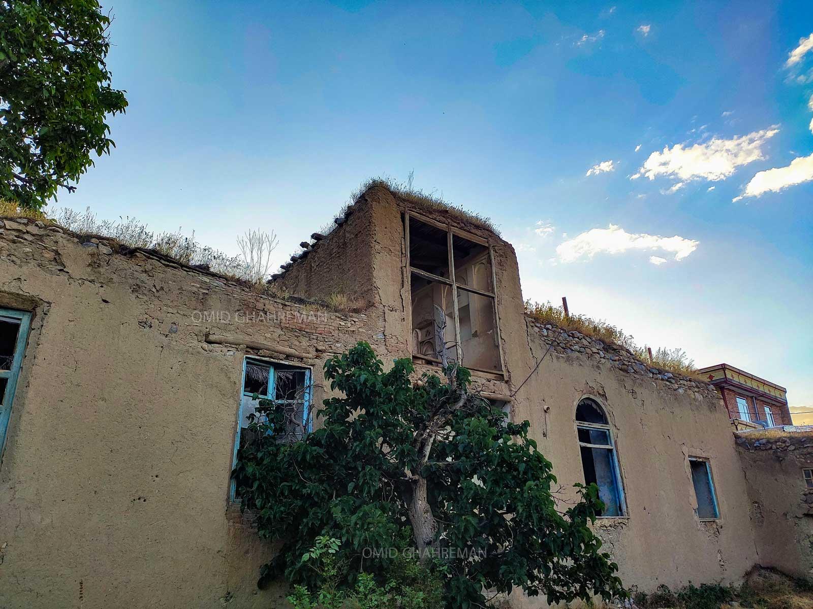 خانه قدیمی زیبا در روستای باغچه جوق