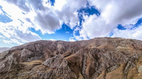 خط الراس کوه چرکین از دانیال تا قله چیرچین