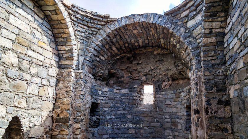 داخل مقبره و آرامگاه ساندخت Sandukht