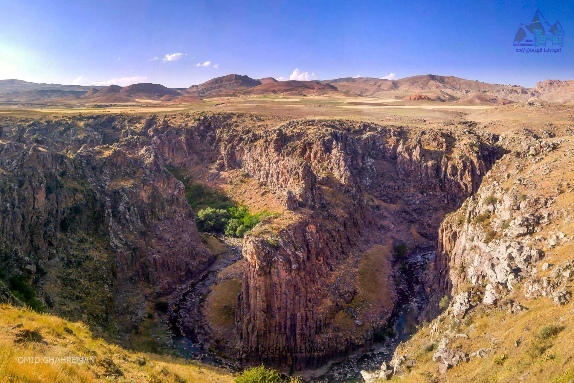 دره بدولی ما بین شهرستان ماکو و چالدران