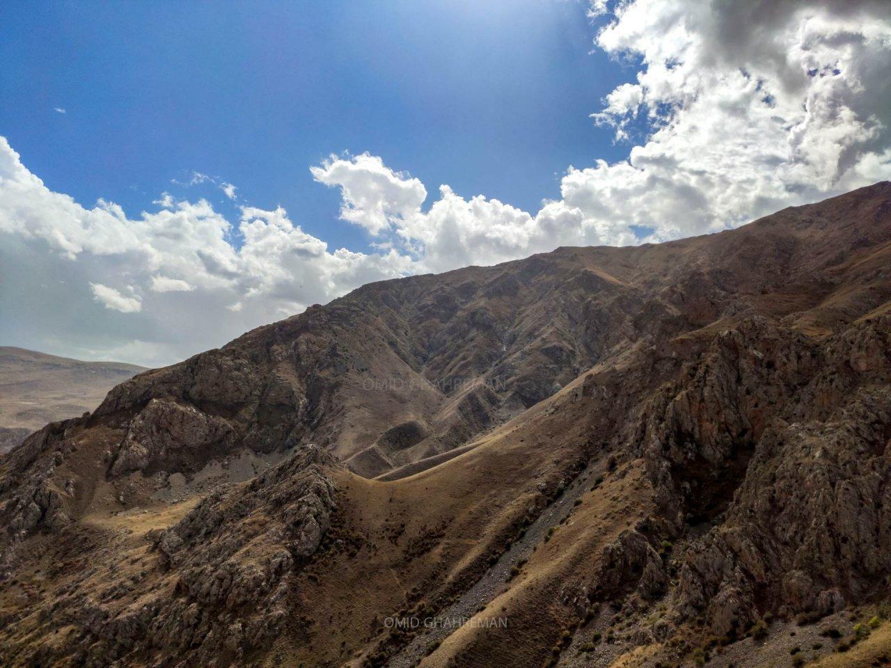 سمت دانیال کوه چیرچین ماکو