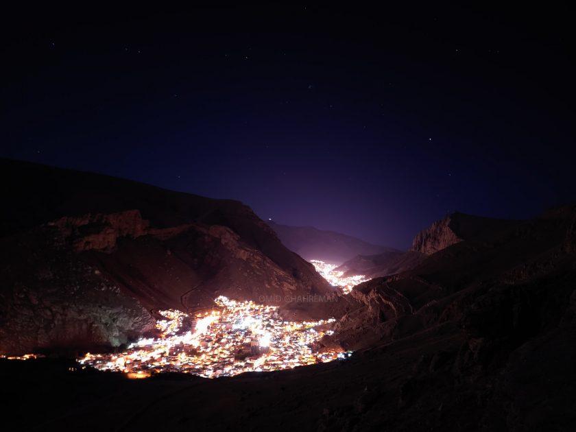 شبانه در ارتفاعات ماکو
