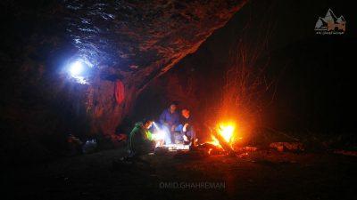 ماکو و شب مانی در کوهستان
