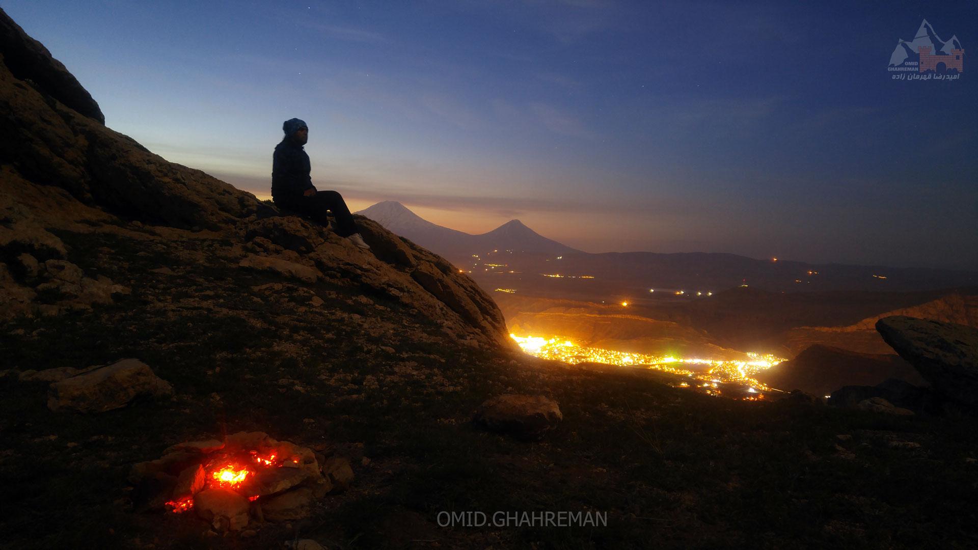 شبی در کنار آرارات