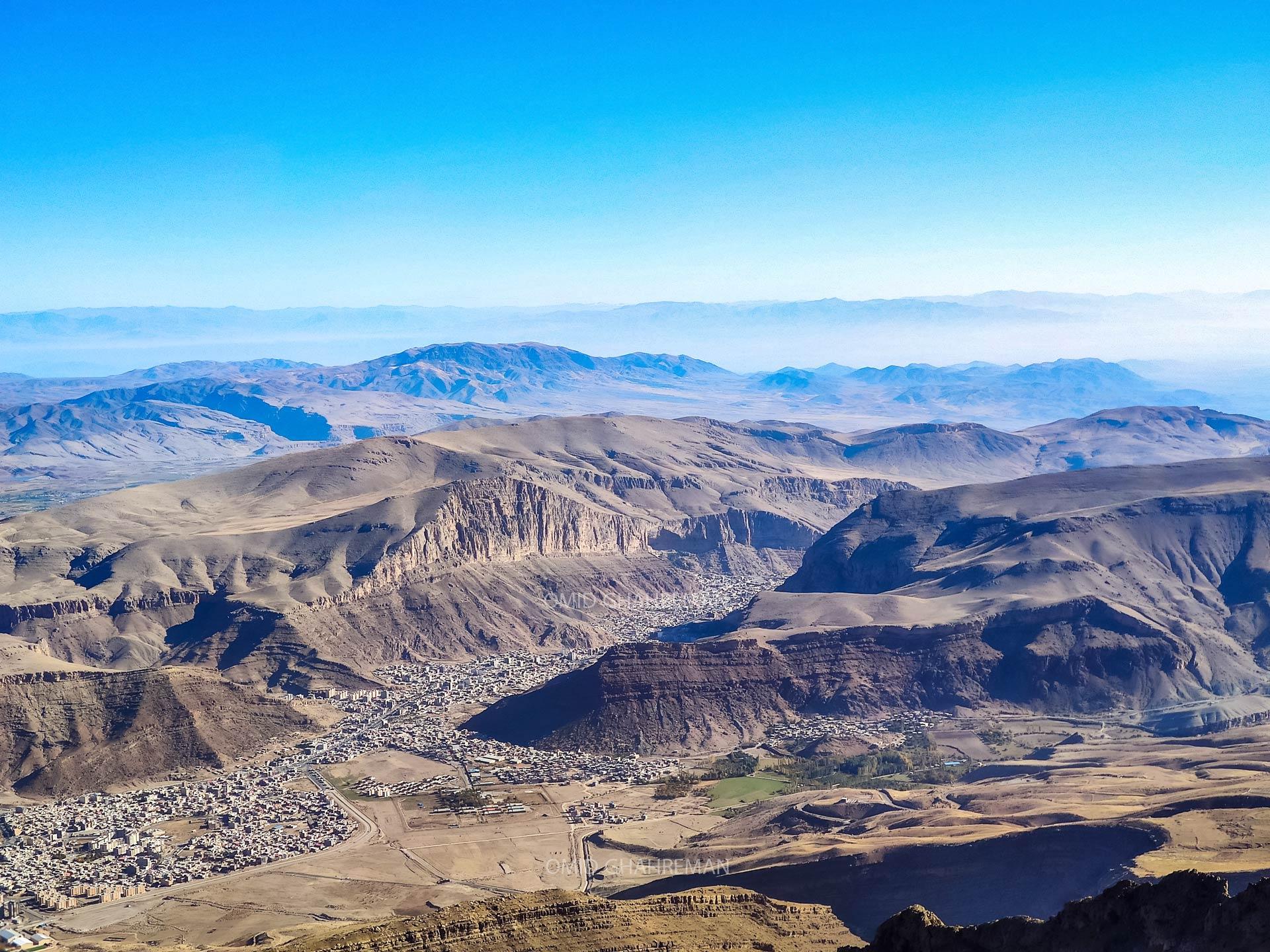 ماکو و کوهستان های اطراف