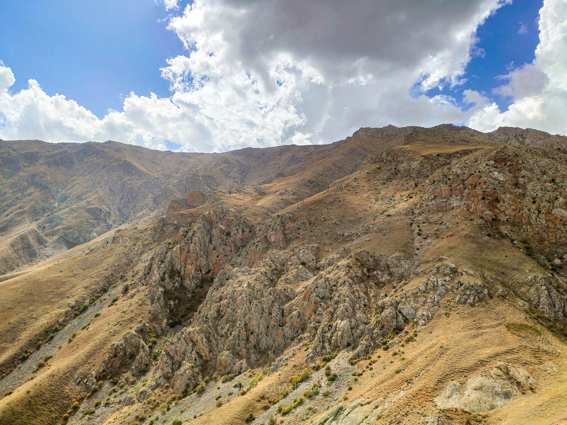 مسیر شمالی کوه چرکین