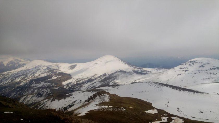 هوای نامساعد در ارتفاعات چرکین