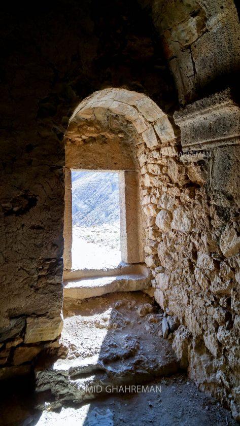 ورودی صومعه Saint Zachary