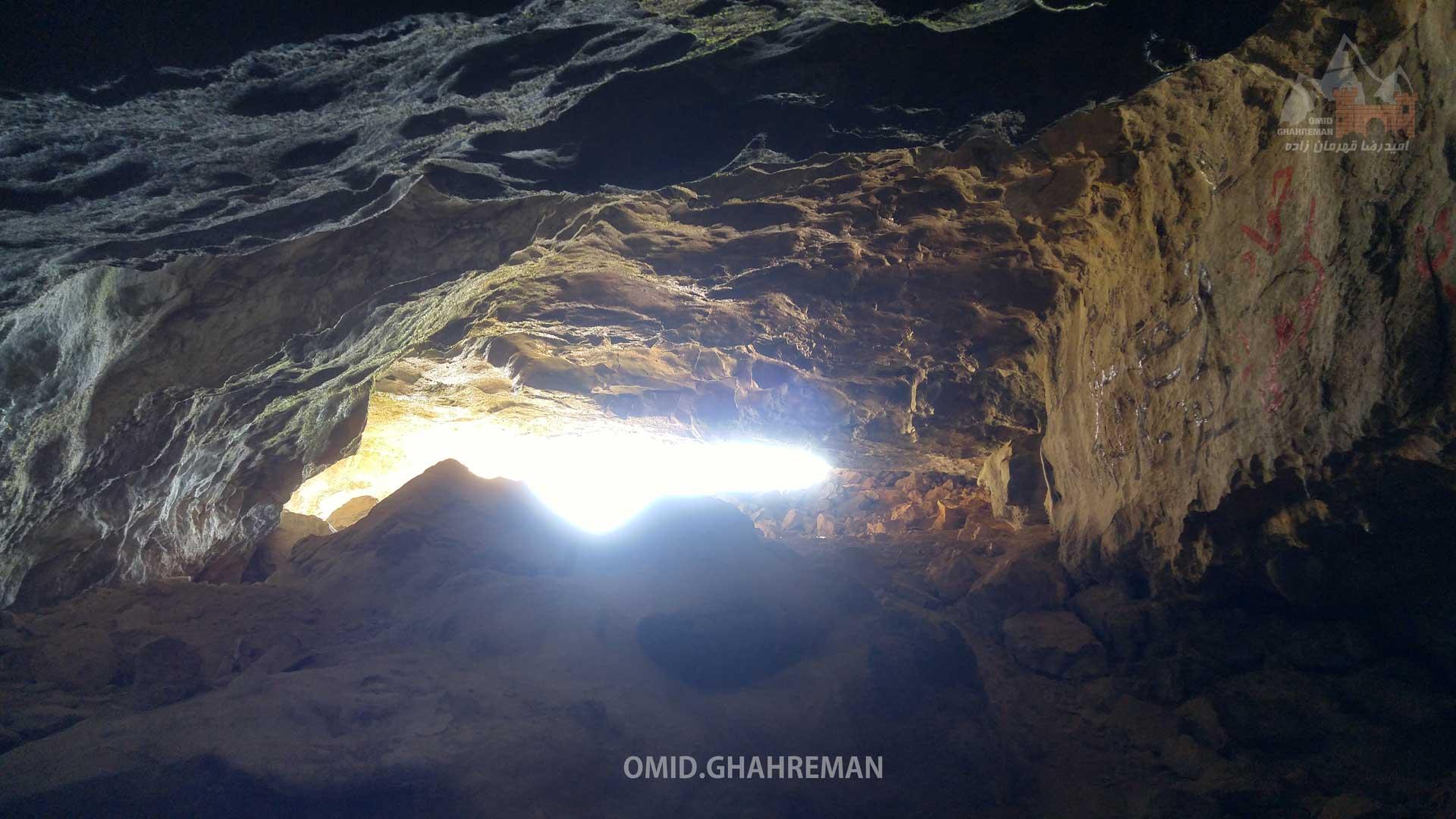 ورودی غار تشتگاه