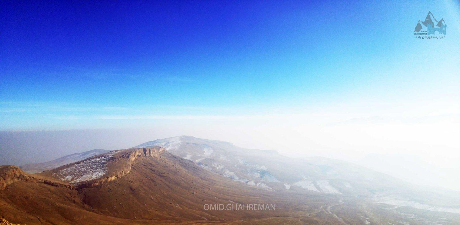 کوهستان ابری ماکو