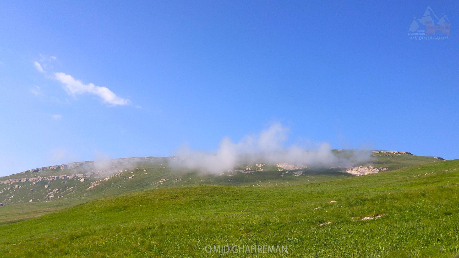 کوه دومانلی در نزدیکی کوه قارلی