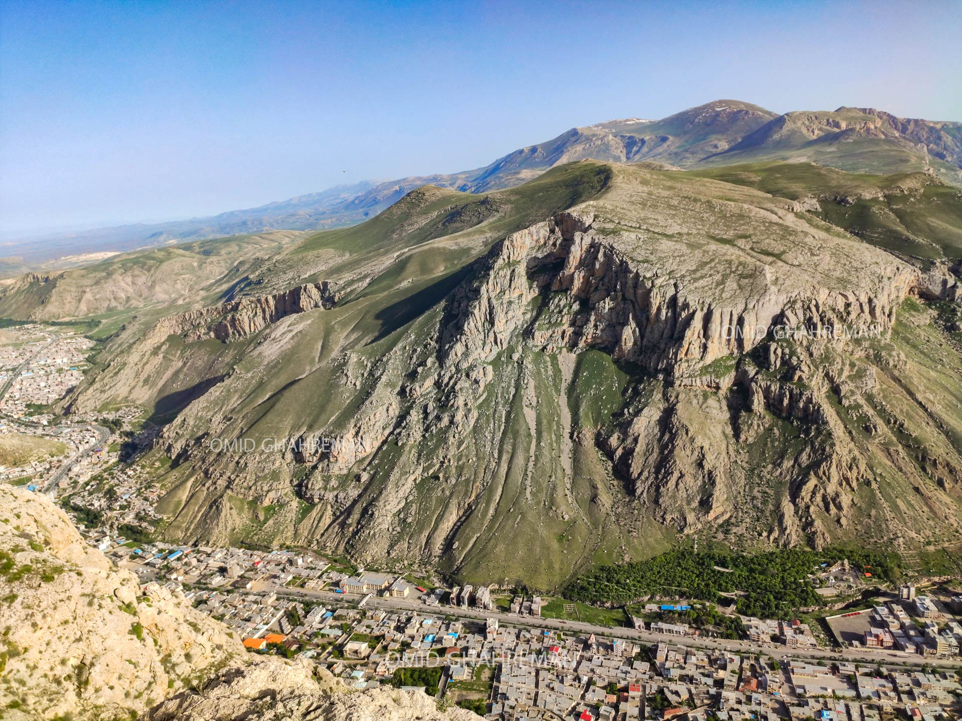 کوه سبد و بخش جنوبی