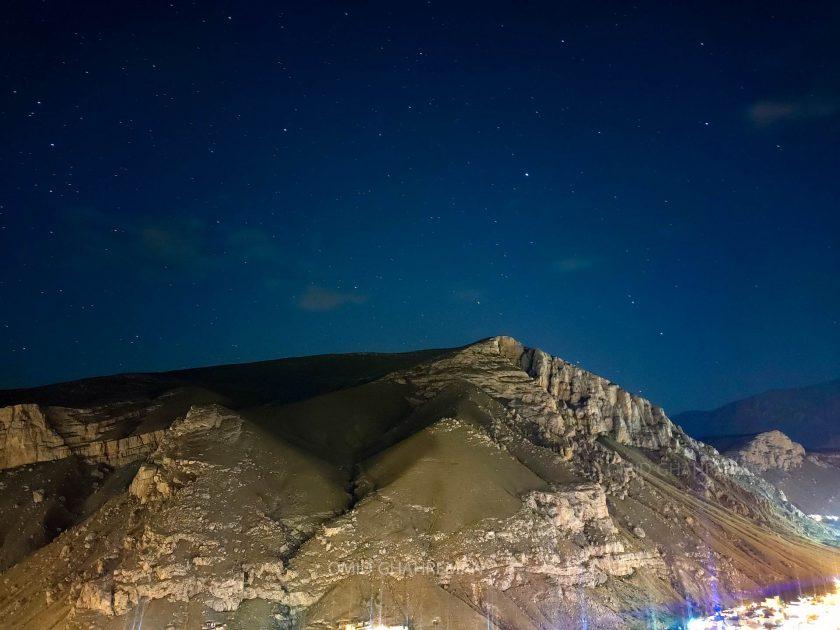 کوه سبد و ستارگان در شب های ماکو