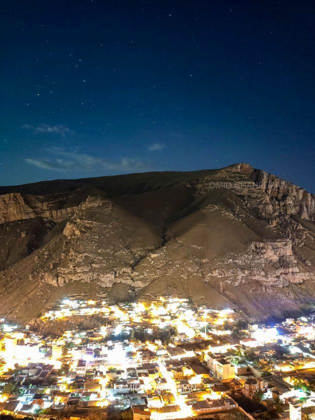 کوه سبد و شب درخشان