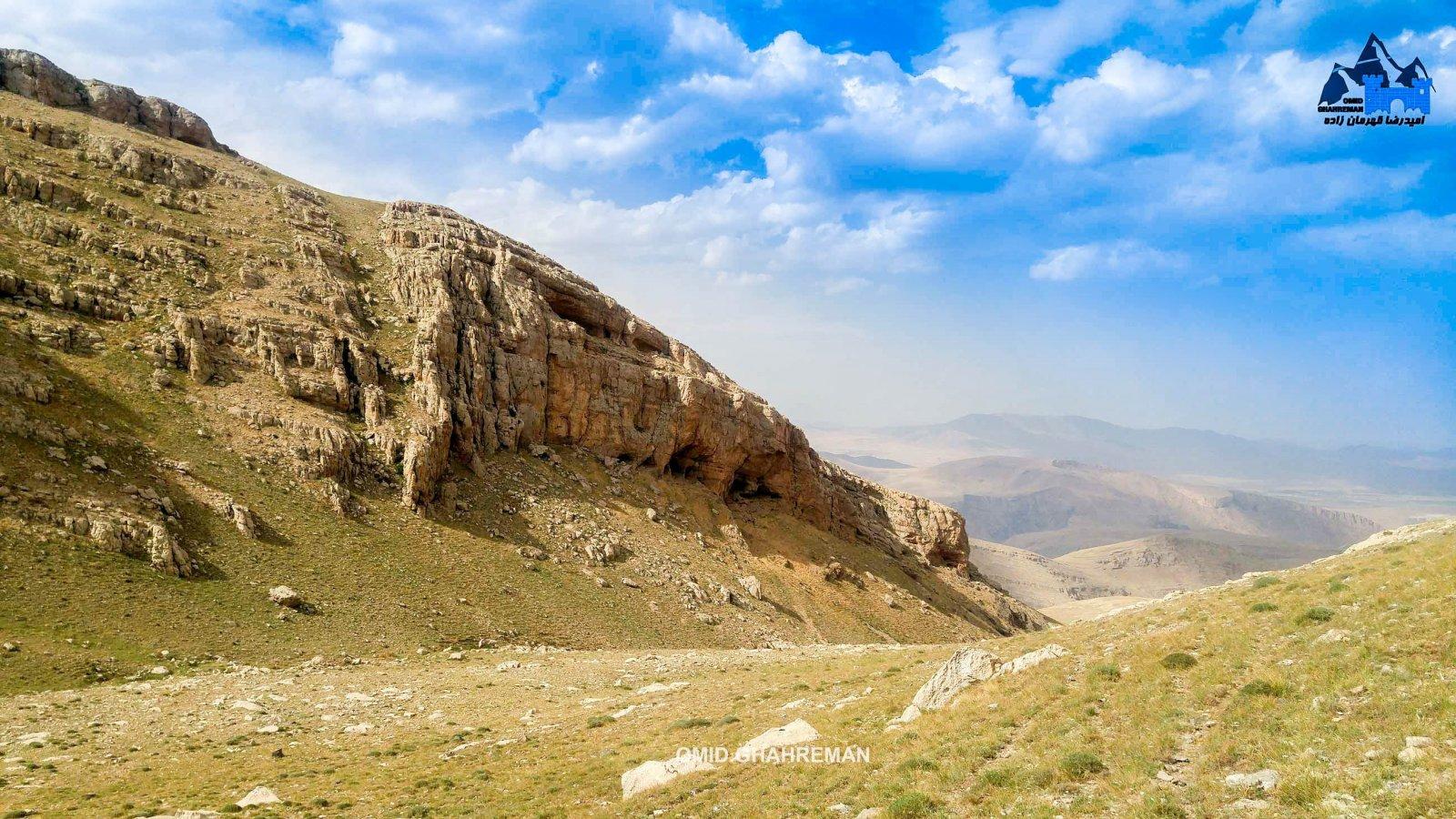 کوه قارلی و مسیر روستای تیکمه