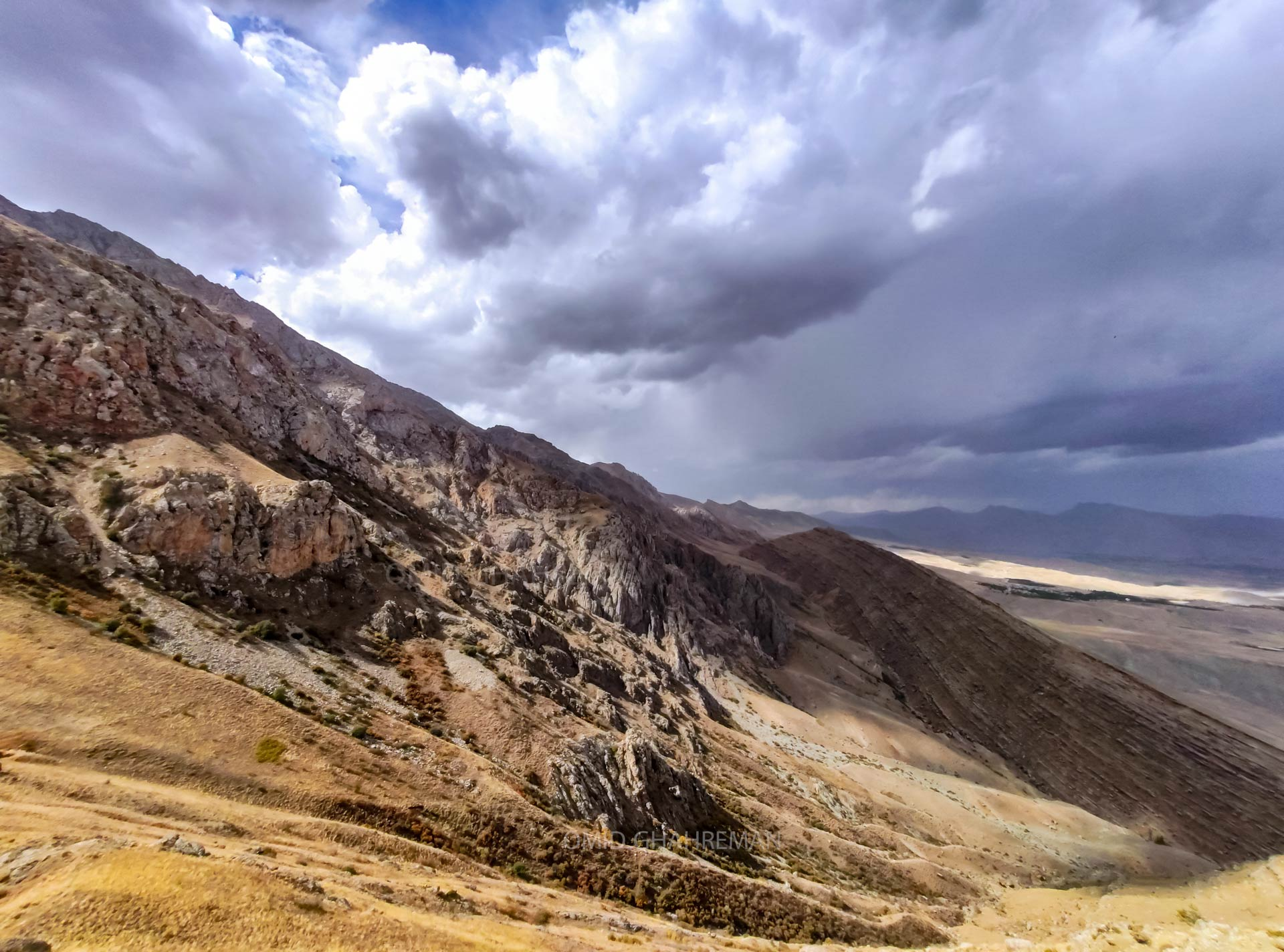 گرده انسور Anasu Valley