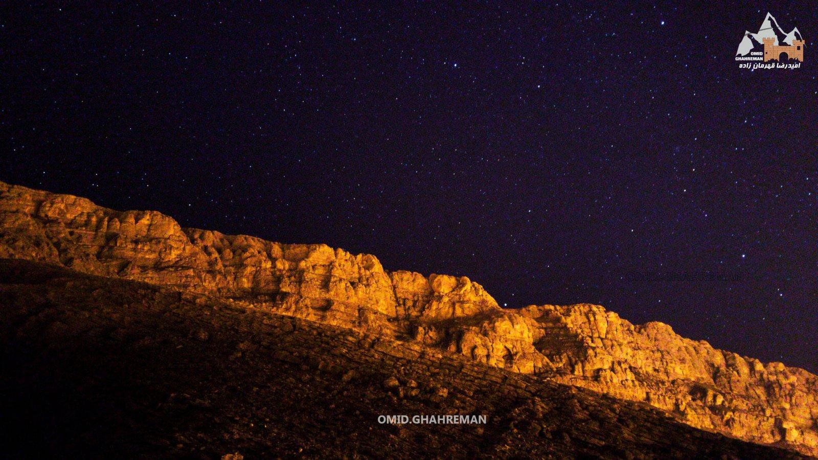 شب و ستاره ها در کوهستان های ماکو