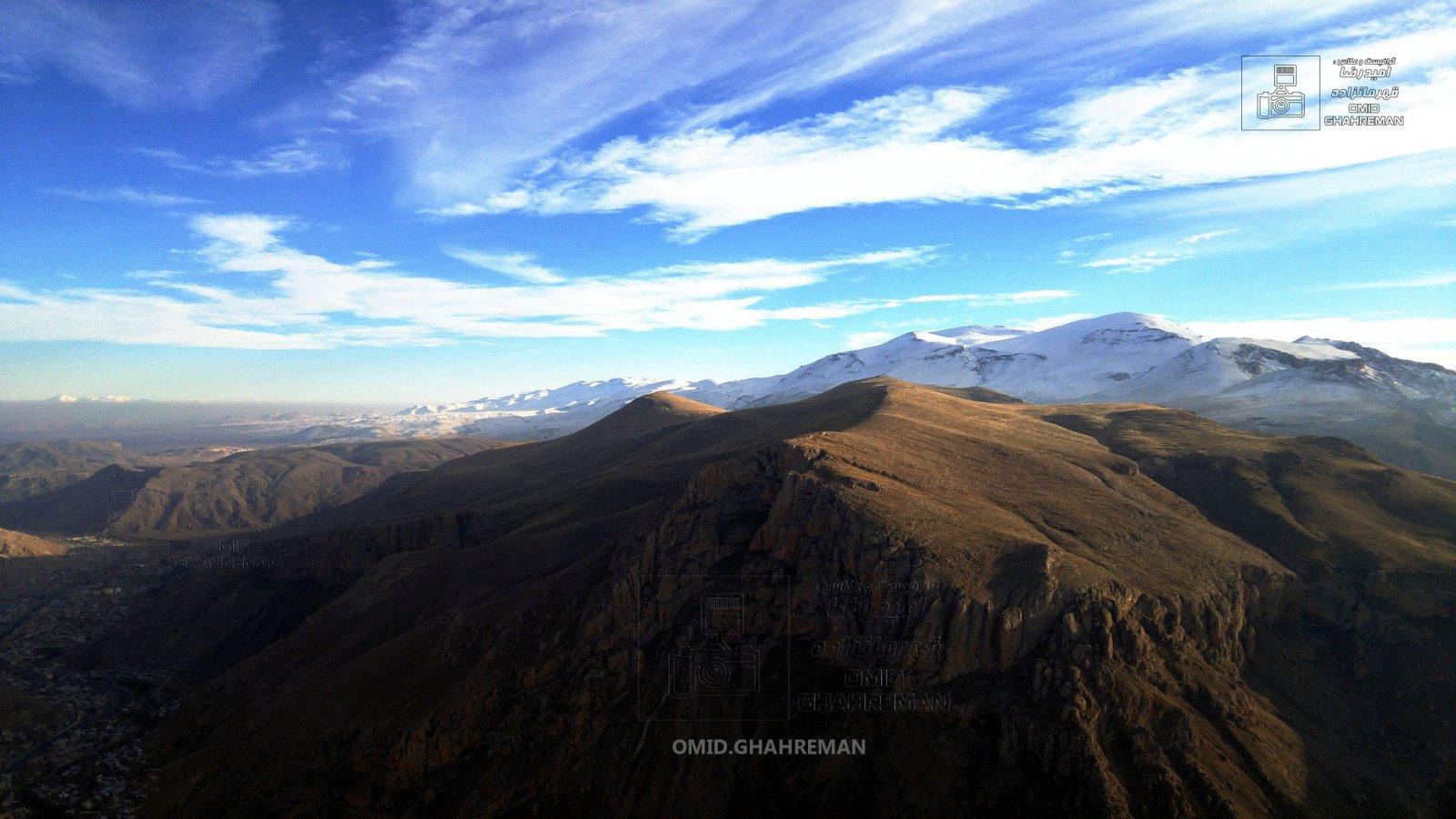 سبد داغی ماکو از ارتفاعات