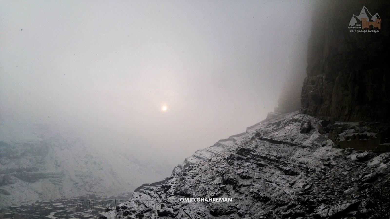 ماکو در زمستان