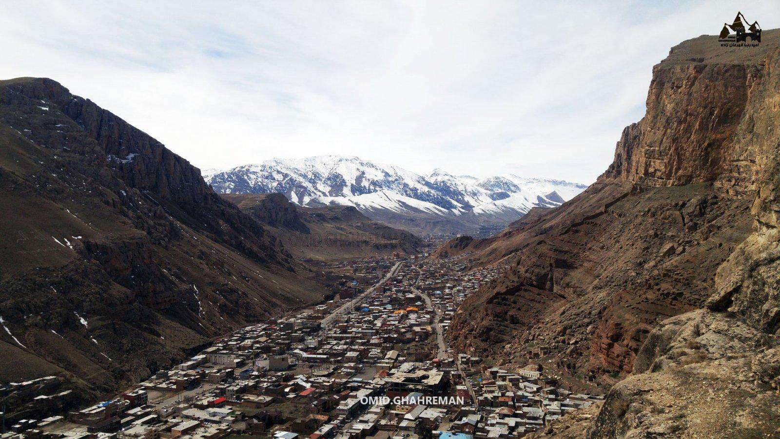 ماکو شهری در میان کوهها و طبیعت