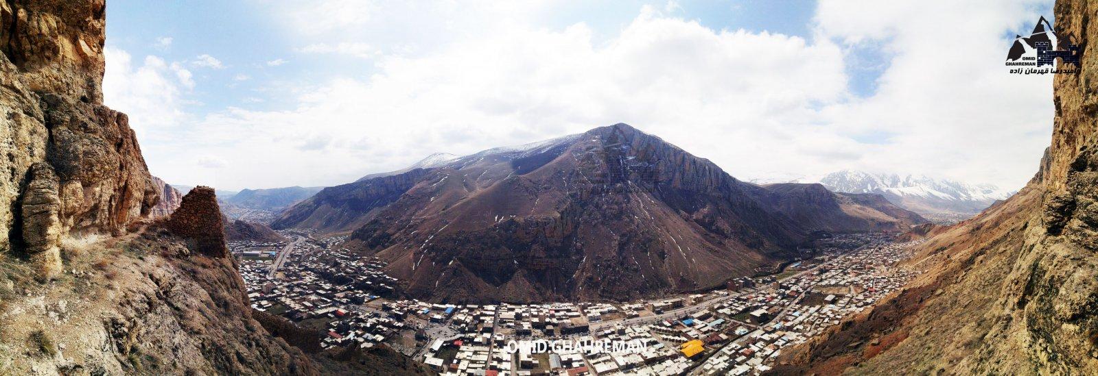 ماکو شهری میان کوهها