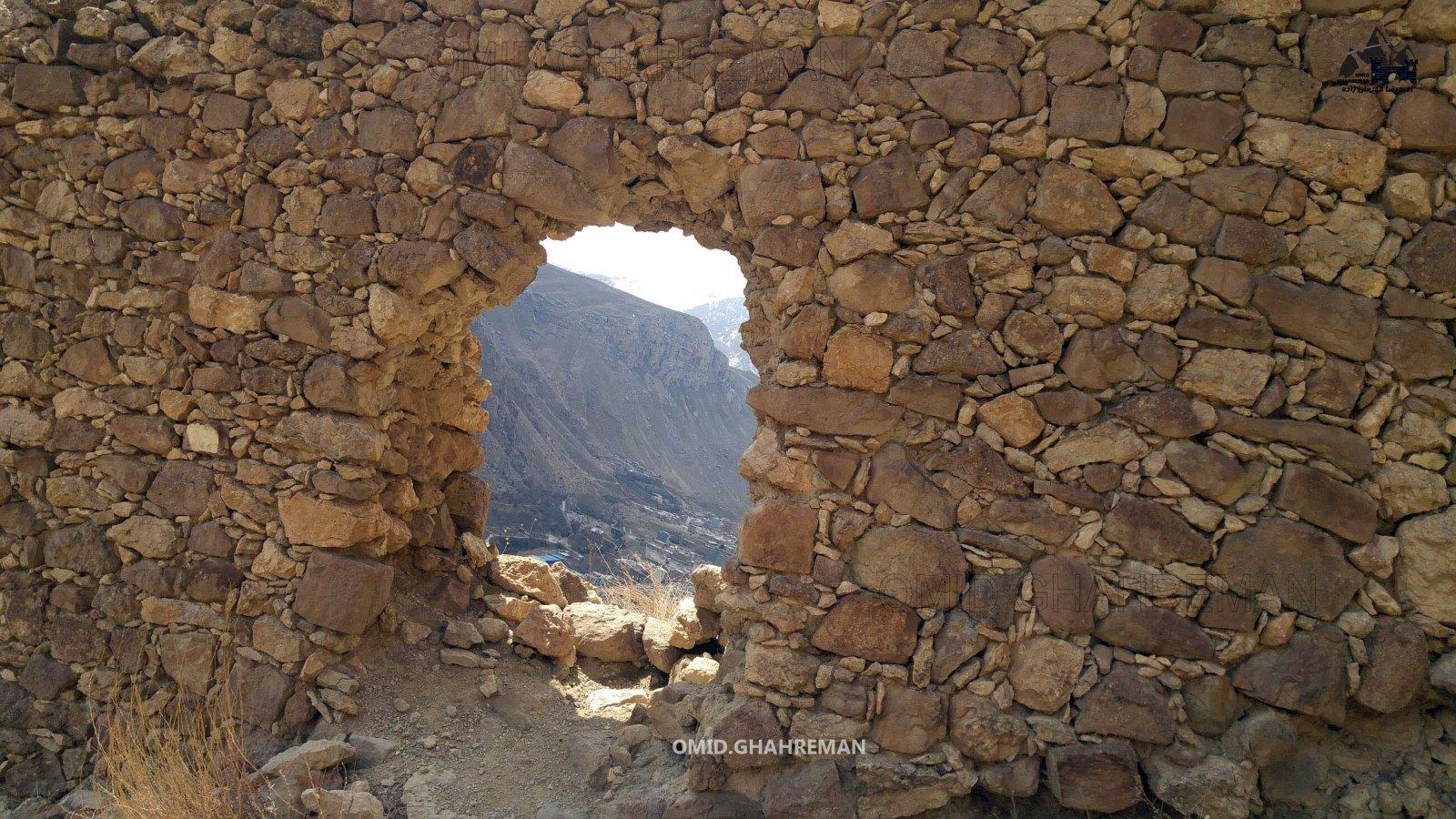 درب قلعه قبان ماکو