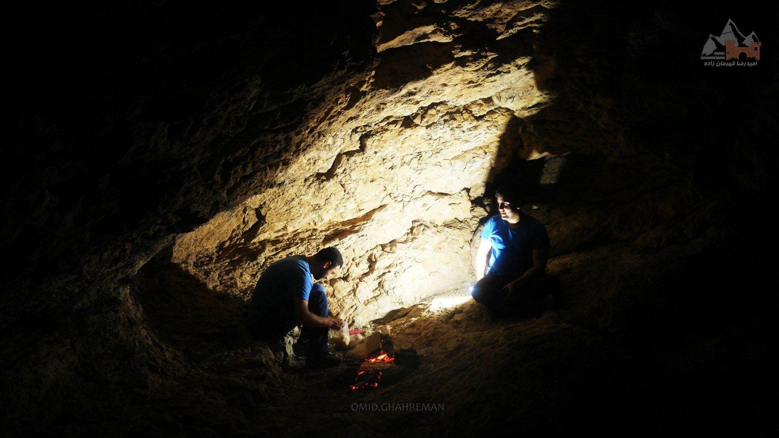 شب مانی در کوههای ماکو