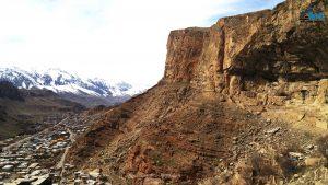 کلاهک سنگی و یا همان کوه قییه ماکو