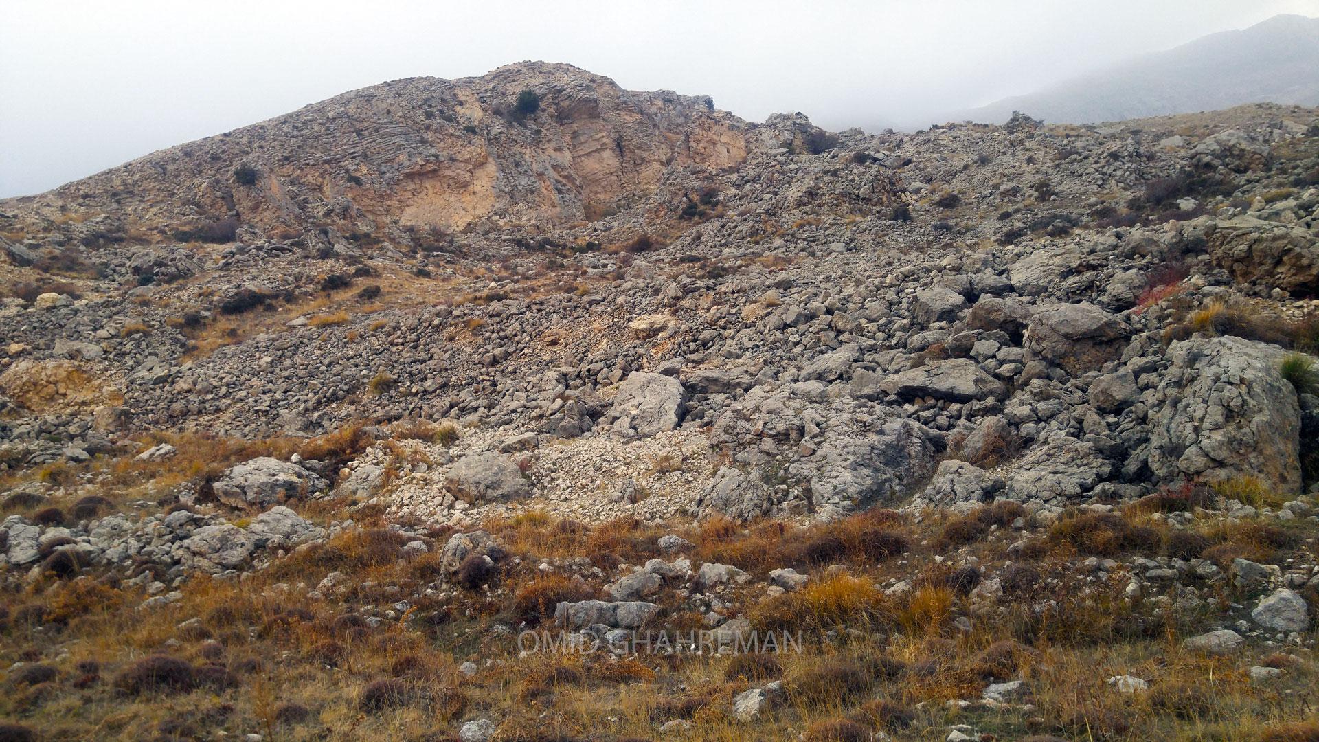 فرسایش کوههای ماکو