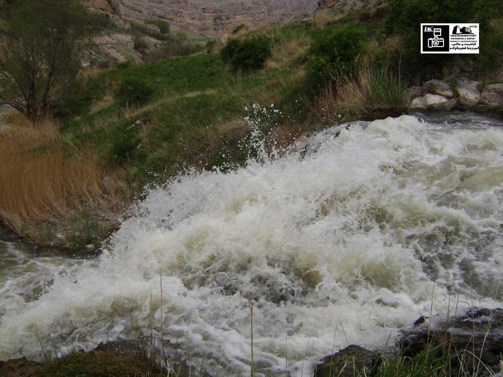 آبشار روستای رند