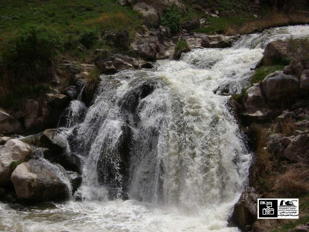 آبشار شرشر روستای رند ماکو