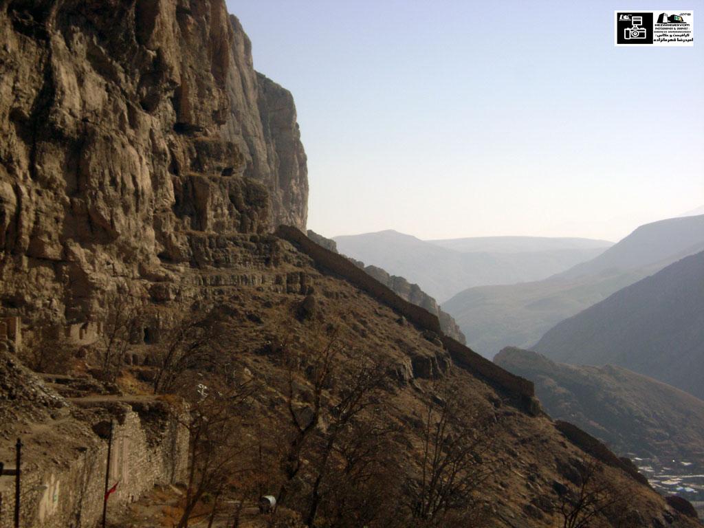 دیوار قلعه قبان یا قابان ماکو