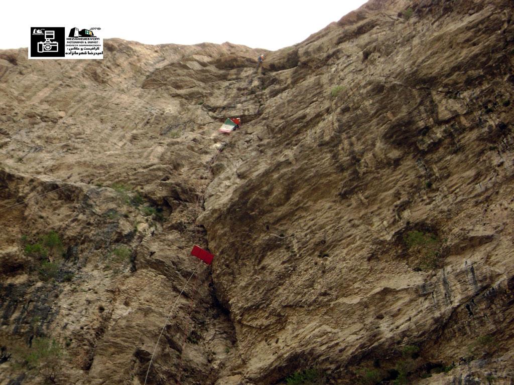 صعود صخره نوردان ماکو به کلاهک قیه