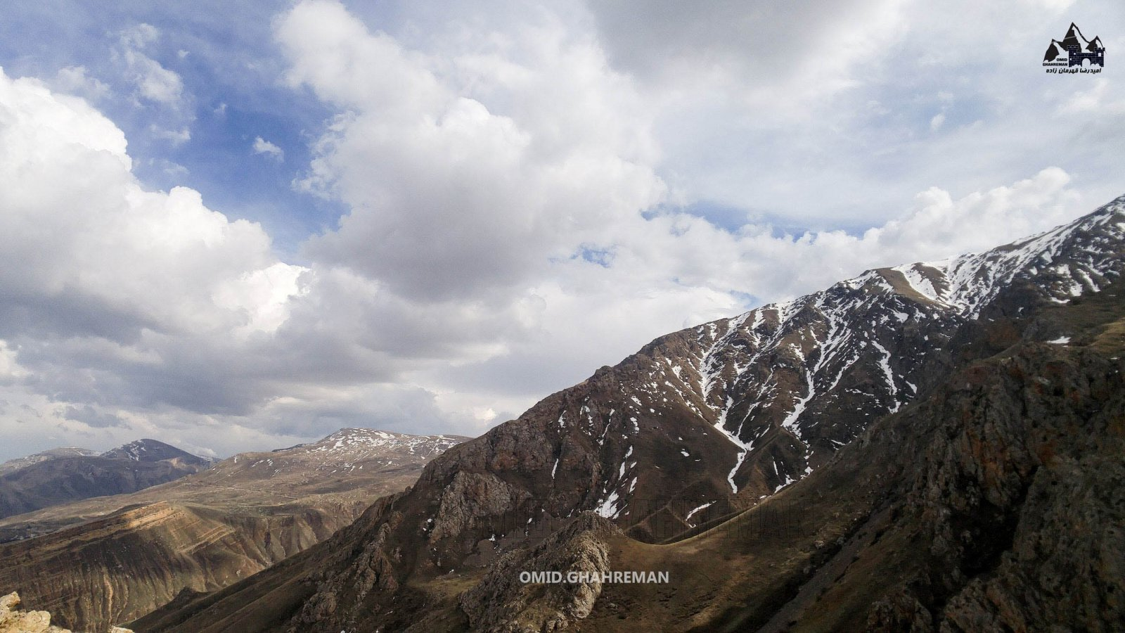 ابتدای مسیر کوه چیرچین ماکو