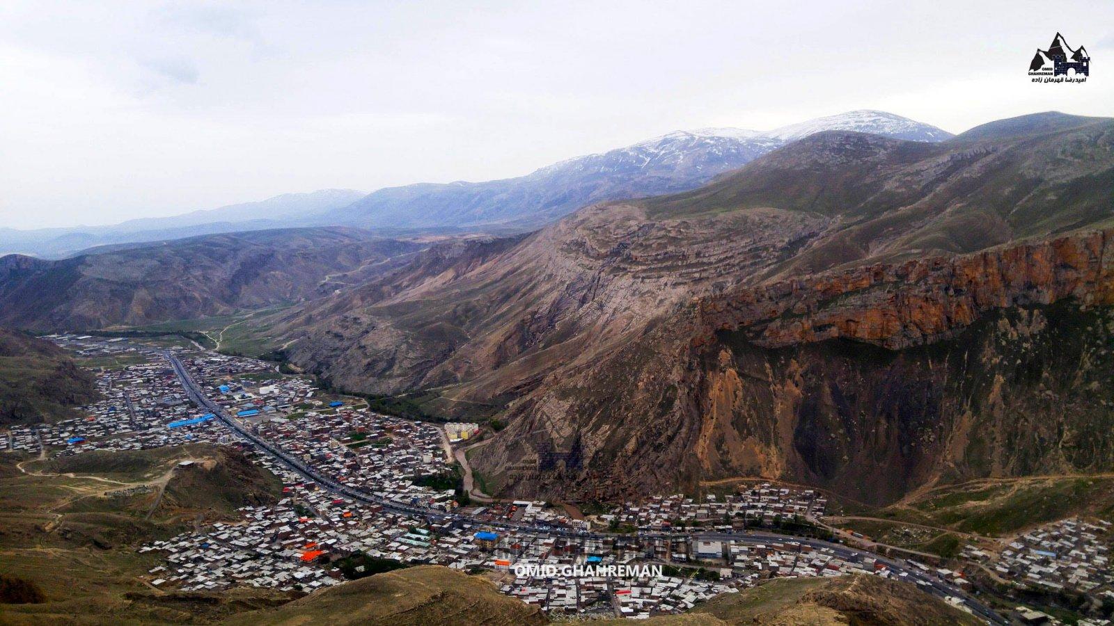عکس ماکو از ارتفاعات شهر