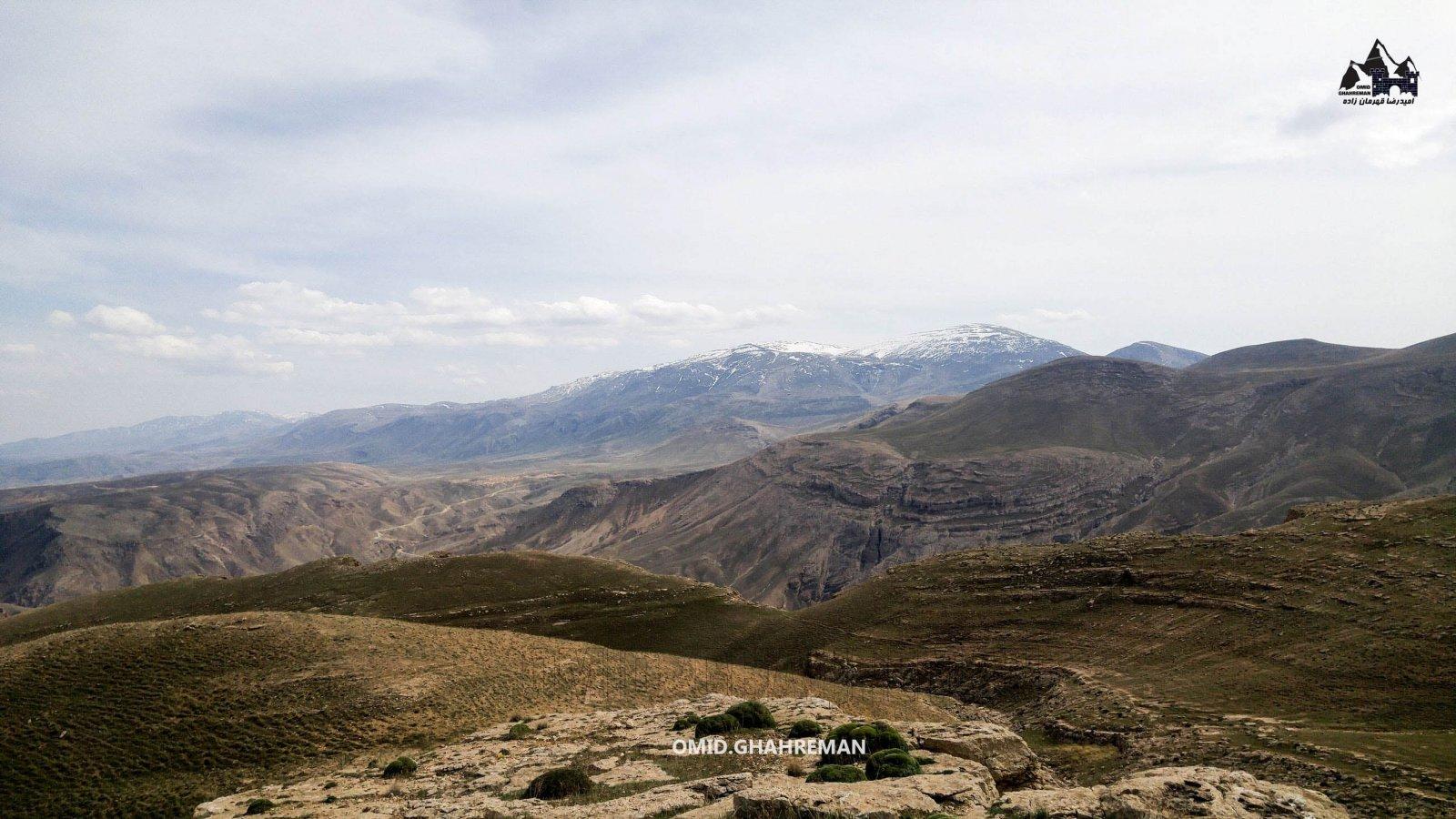 ماکو از ارتفاع 1700