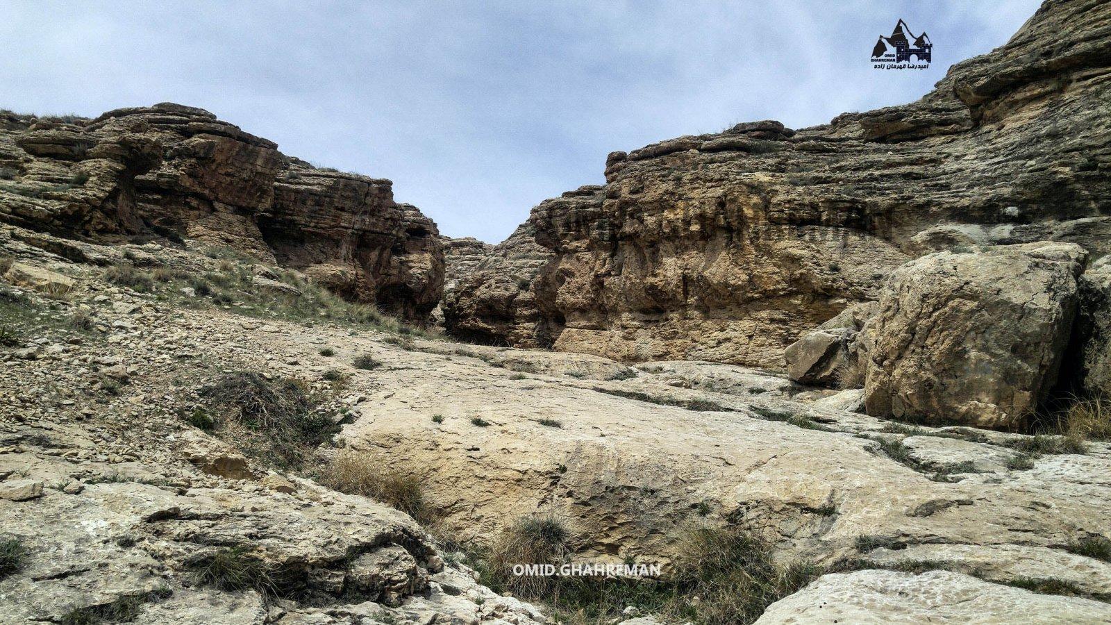 دره رسوبی در ماکو