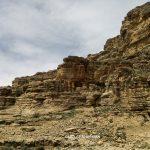 دره رسوبی در ارتفاعات ماکو