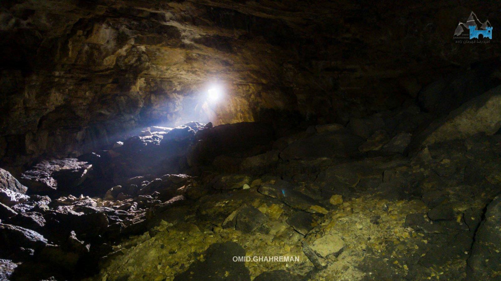 XAZANGAH cave of makou city